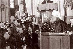 Выступление митрополита Вениамина