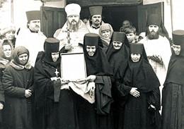 Возвращение Козельщинской иконы Божией Матери 24 февраля 1993 г.