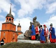 В селе Келеберда на берегу Днепра издавна жили казаки
