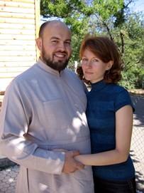 Отец Сергий с супругой