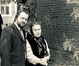 С сыном Н. И. Державиным