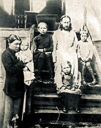 Священник Павел Флоренский с семьёй