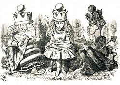 Джон Тенниел. Алиса в «Зазеркалье»