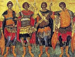 Четыре святых воина