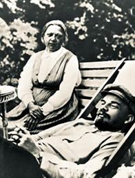 Надежда Крупская и Ленин