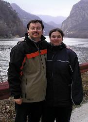 Оана Ифтиме с мужем