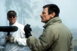 Андрей Тарковский на съёмках фильма «Жертвоприношение»