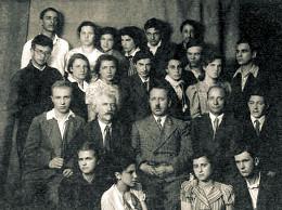 И. И. Зеленцов среди учеников 110-й школы