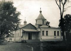 Спасо-Преображенский Матвеевский храм — бывший монастырский скит. 50-е годы ХХ века