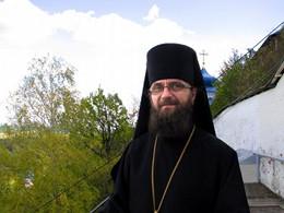 о. Серафим в Святогорской Лавре