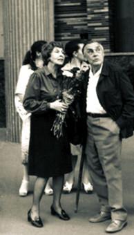 Арсений Тарковский и Татьяна Озерская-Тарковская в Киеве