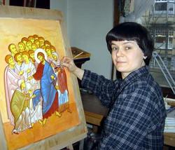 Ирина Горбунова-Ломакс, иконописец и искусствовед
