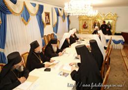 Засідання Священного Синоду УПЦ