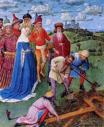 Обретение честого Креста Господня святой императрицей Еленой