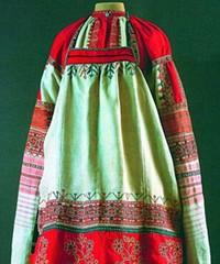 Орнамент и цвет одежды