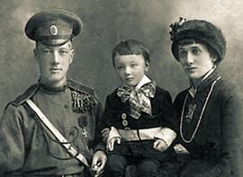 Николай Гумилев, Лев Гумилев, Анна Ахматова