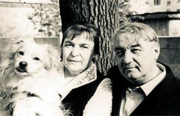 Лев Николаевич Гумилев с женой Натальей Викторовной Гумилевой