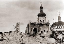 Руїни Успенського Собору Києво-Печерської Лаври