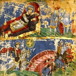 Сон Константина и Победа Константина над Максенцием у Мульвиева моста в Риме