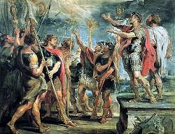 Рубенс. Видение императору Константину