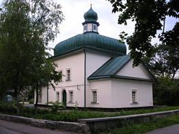 Спасский храм Полтавы