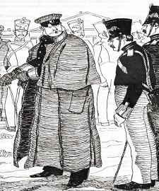 Иллюстрация к рассказу «Человек на часах»