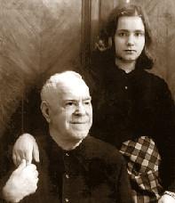 Жуков с дочерью