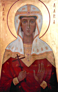 Икона св. Дарьи