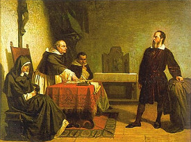 Галилей отвечает на вопросы инквизиции