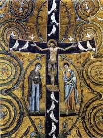 Распятие. Римская базилика св. Клемента