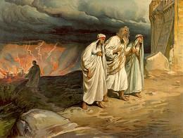 Истребление Содома и Гоморры и спасение Лота