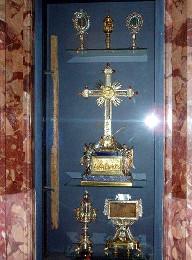 Часть Креста Господня, крест благоразумного разбойника...