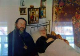 Митрополит Ириней у инока Иоанна