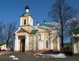 Свято-Никольский храм в с. Ракитное