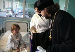 В детской больнице в Дамаске
