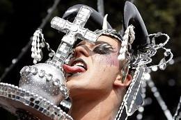 Гей-парад в Риме