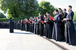 Выступление хора Киевской Духовной Академии и семинарии