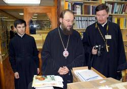 Посещение делегацией УПЦ во главе с митрополитом Антонием Православного богословского факультета Белградского университета