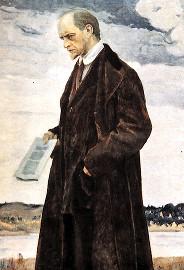 Иван Ильин на картине Нестерова