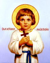 Святой мученик младенец Гавриил