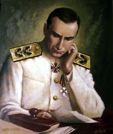 Адмирал Колчак Худ. Савицкий