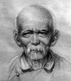 Портрет китайского фермера, 1940 г.
