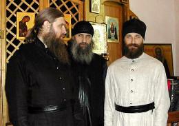 Игумен Никита (Корниенко), иеромонах Роман (Матюшин), священник Александр Морозов