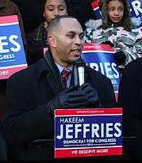 Американский конгрессмен Хакким Джефрис