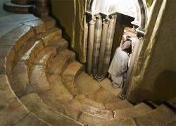 Подземный храм базилики Рождества