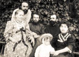 Cвященник Дмитрий Киранов в кругу семьи