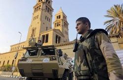 Кафедральный собор св.ав.Марка в Каире, 7 января 2014 г. Фото: AP/Amr Nabil