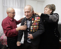 Семья «усыновила» брошенного ветерана Великой Отечественной войны