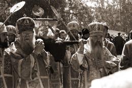 Перенесение мощей преп. Серафима Саровского, 1991 год