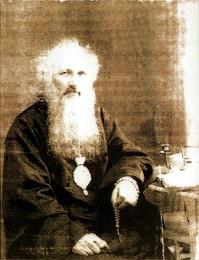 Архиепископ Омский и Павлодарский Сильвестр. Единственный сохранившийся омский снимок